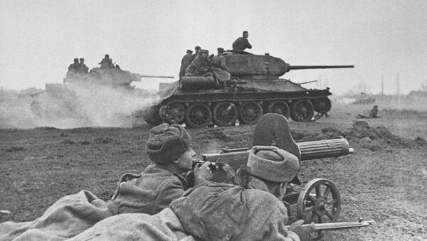 Bitwa na obrzeżach Budapesztu, 1945 rok - Sputnik Polska