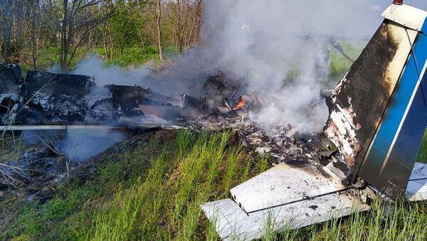 Wypadek samolotu na Ukrainie - Sputnik Polska