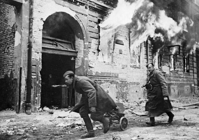 Oddziały radzieckie w Berlinie, 1945 rok