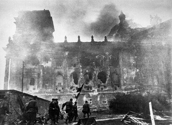 Atak na Reichstag, 1945 rok - Sputnik Polska