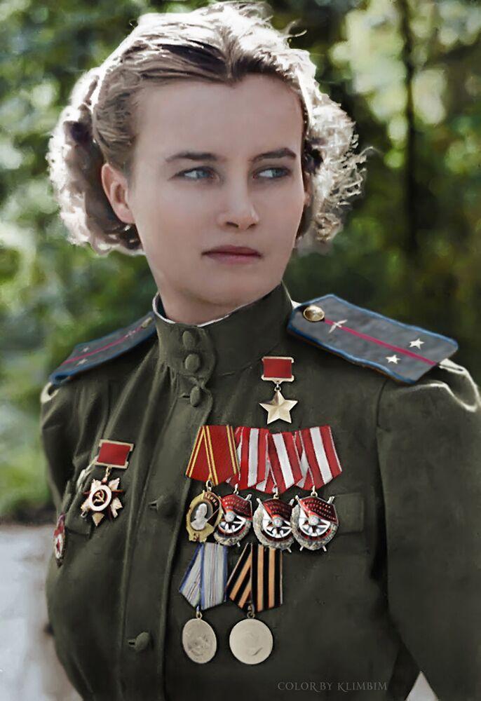 Radziecka pilotka Natalia Meklin