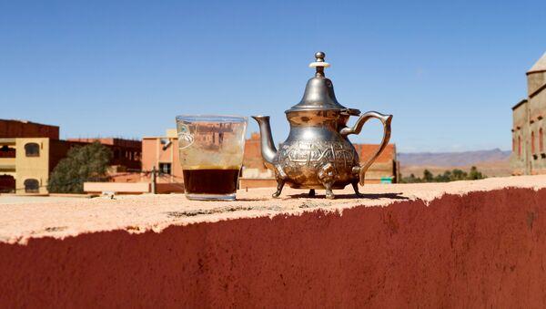 Tradycyjny marokański czajnik - Sputnik Polska