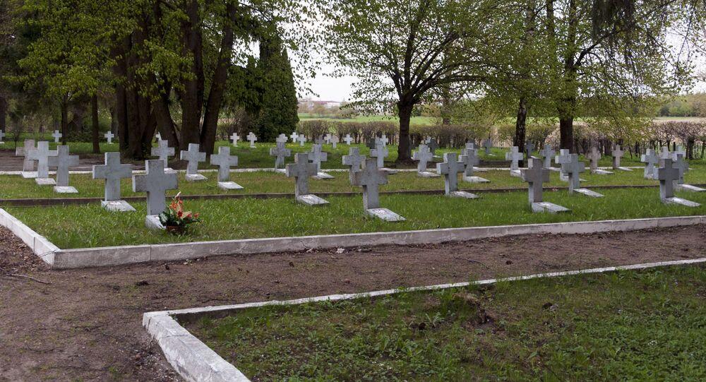 Cmentarz żołnierzy radzieckich k. Olsztynka