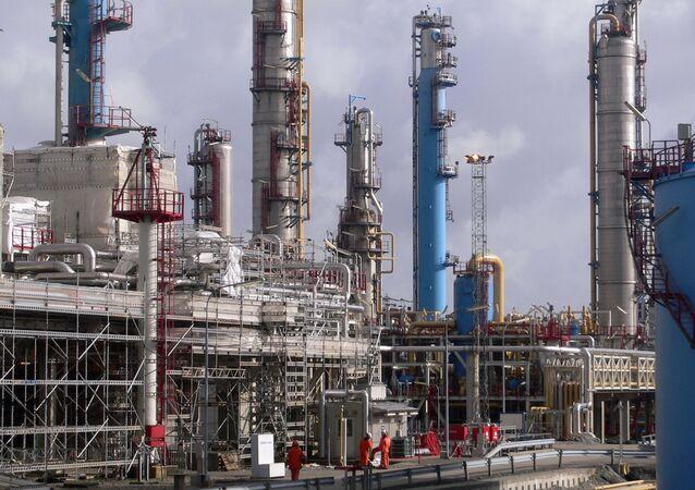 Instalacja do przetwórstwa gazu ziemnego z Norwegii