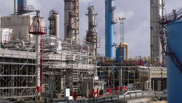Instalacja do przetwórstwa gazu ziemnego z Norwegii - Sputnik Polska