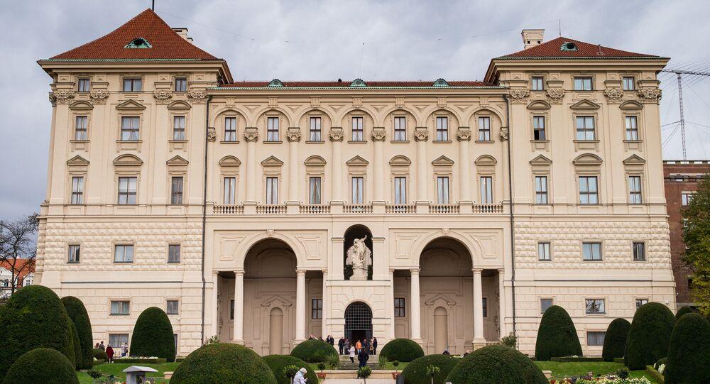 Pałac Czerniński w Pradze