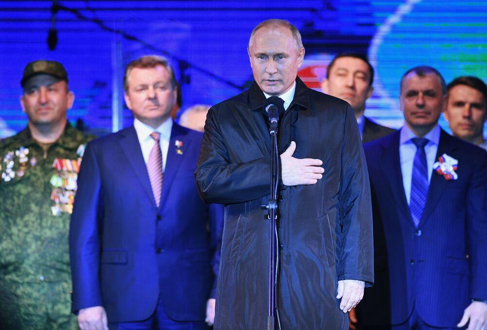 Koncert z okazji piątej rocznicy zjednoczenia Krymu z Rosją