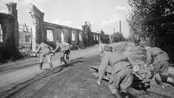 Żołnierze Wojska Polskiego na Pradze, 1944 rok - Sputnik Polska
