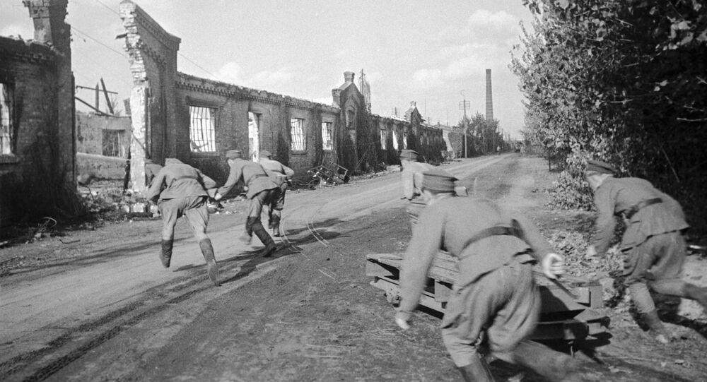 Żołnierze Wojska Polskiego na Pradze, 1944 rok