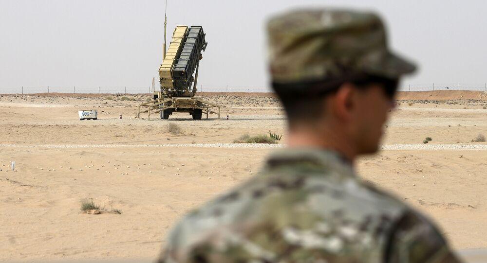 Wyrzutnia przeciwrakietowa Patriot w Arabii Saudyjskiej