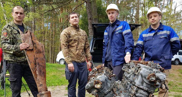 Wrak samolotu wojskowego znaleziony w Swietłogorsku