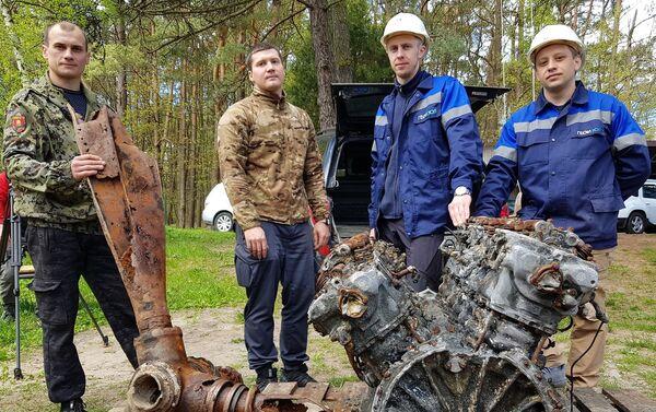 Wrak samolotu wojskowego znaleziony w Swietłogorsku  - Sputnik Polska