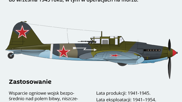 Samolot szturmowy Ił-2 - Sputnik Polska