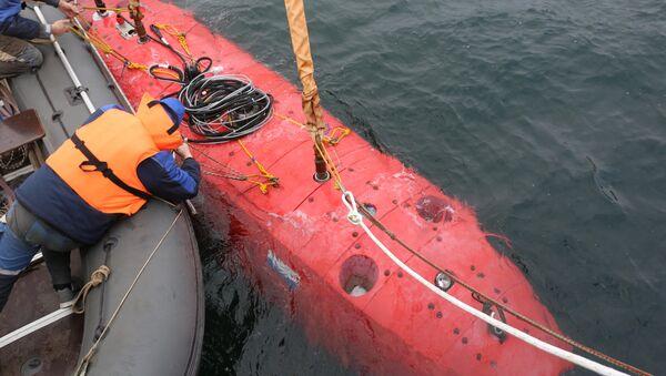 Bezzałogowy aparat podwodny Witiaź - Sputnik Polska