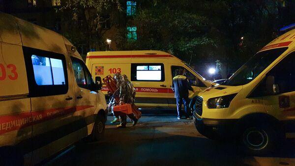 Pożar w szpitalu w Moskwie - Sputnik Polska