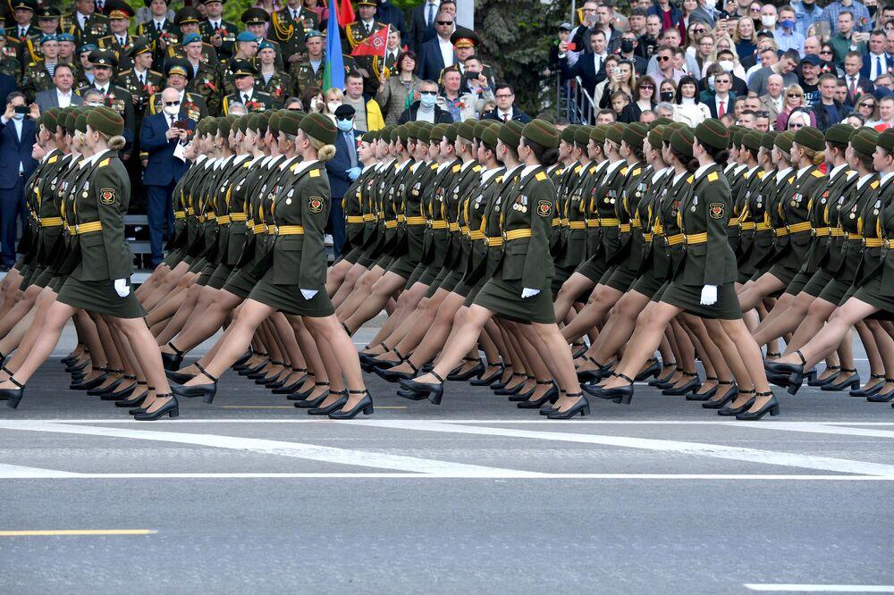 Defilada Zwycięstwa w Mińsku