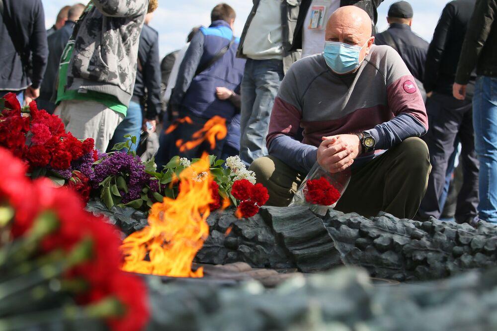 Obchody Dnia Zwycięstwa w Kijowie