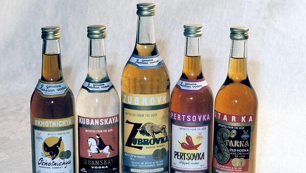 Rosyjskie wódki - Sputnik Polska