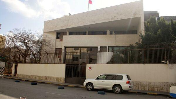 Ambasada Turcji w Trypolisie - Sputnik Polska