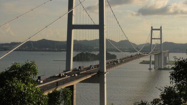 Morski most Humen w Chinach - Sputnik Polska
