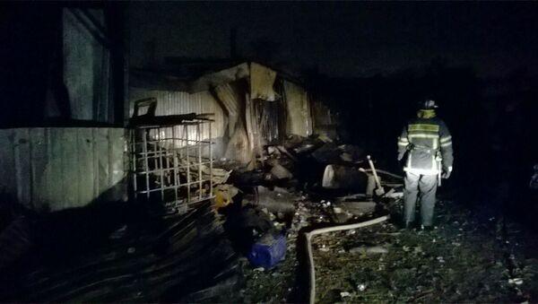 Pożar w hospicjum pod Moskwą - Sputnik Polska