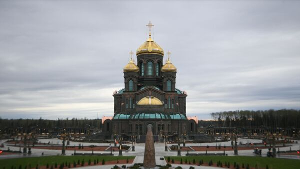 Centralna świątynia Sił Zbrojnych Federacji Rosyjskiej  - Sputnik Polska
