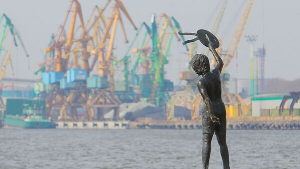 Port morski w Kłajpedzie - Sputnik Polska
