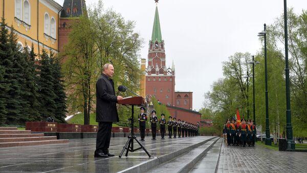 9 maja 2020 roku w Moskwie - Sputnik Polska