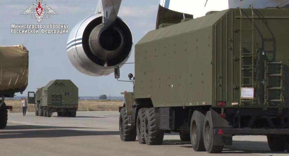 Dostawy wyrzutni S-400 do Turcji