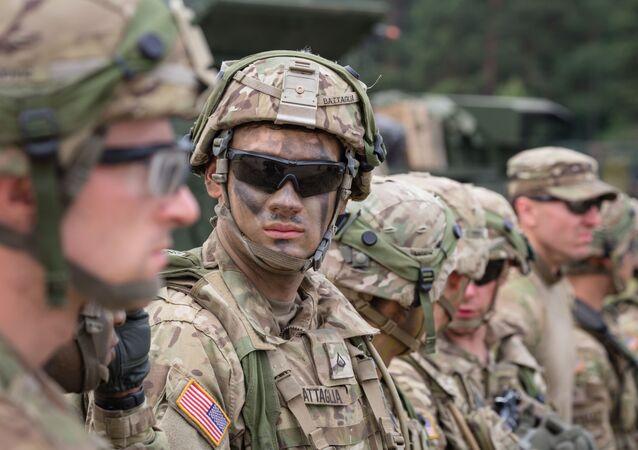 Amerykańscy wojskowi w Polsce