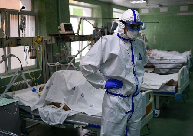 Koronawirus w Rosji