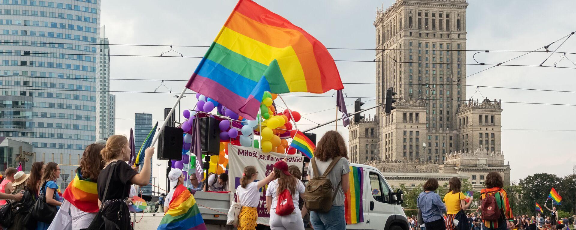 Parada LGBT w Warszawie - Sputnik Polska, 1920, 23.12.2020