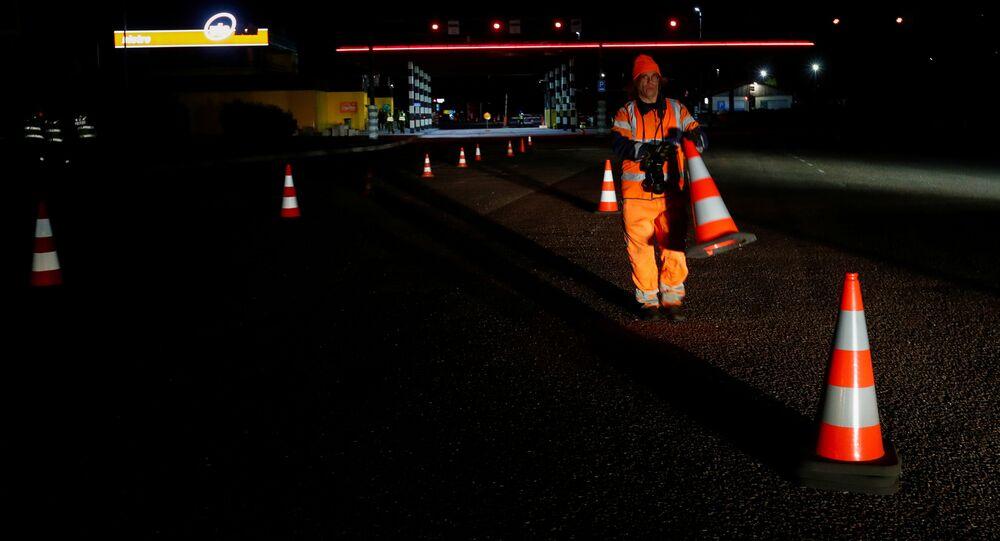 Granica między Estonią i Łotwą, usunięcie znaków ostrzegawczych