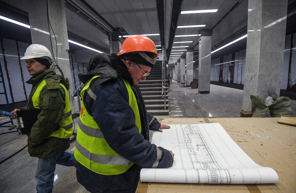Budowa nowej stacji