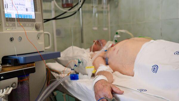 Pacjent na intensywnej terapii - Sputnik Polska