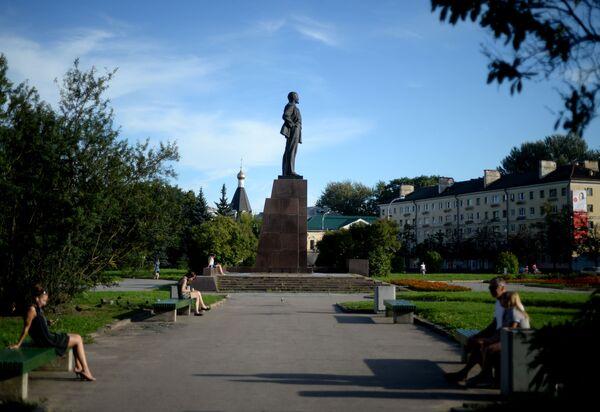 Pomnik Lenina w Pskowie - Sputnik Polska