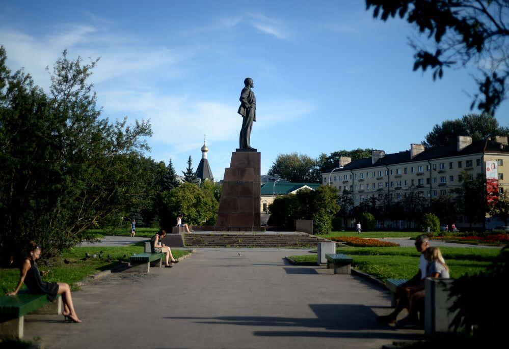 Pomnik Lenina w Pskowie