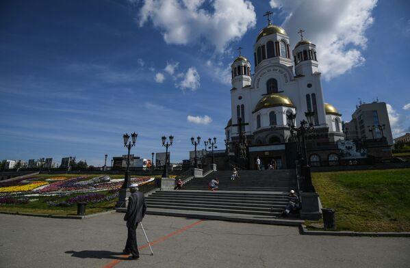 Cerkiew na Krwi w Jekaterynburgu - Sputnik Polska