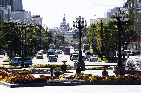 Sobór Zaśnięcia Matki Bożej w Chabarowsku - Sputnik Polska