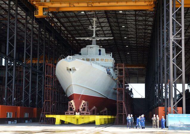 """Mały okręt rakietowy projektu 22800 """"Karakurt"""""""