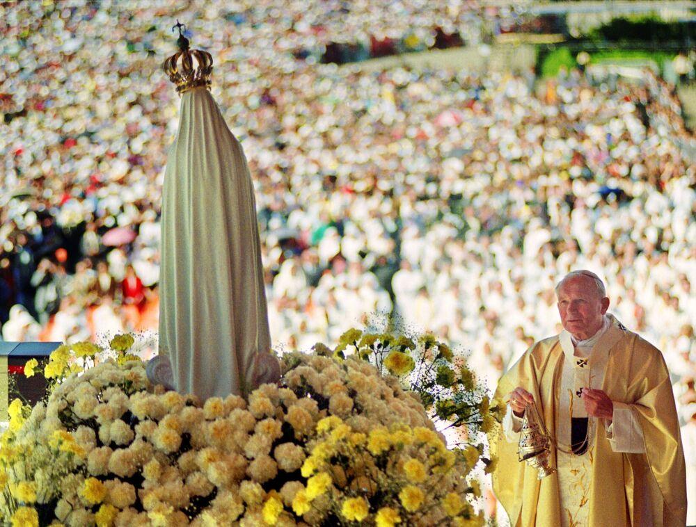 Jan Paweł II w Portugalii w 1991 roku