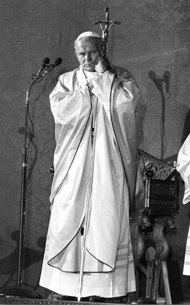 Jan Paweł II we Francji, 1980 rok
