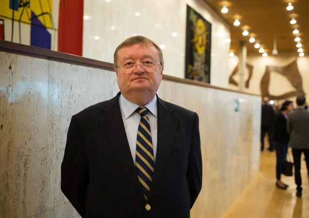 Stały przedstawiciel Rosji przy UNESCO Aleksander Kuzniecow