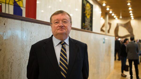 Stały przedstawiciel Rosji przy UNESCO Aleksander Kuzniecow - Sputnik Polska