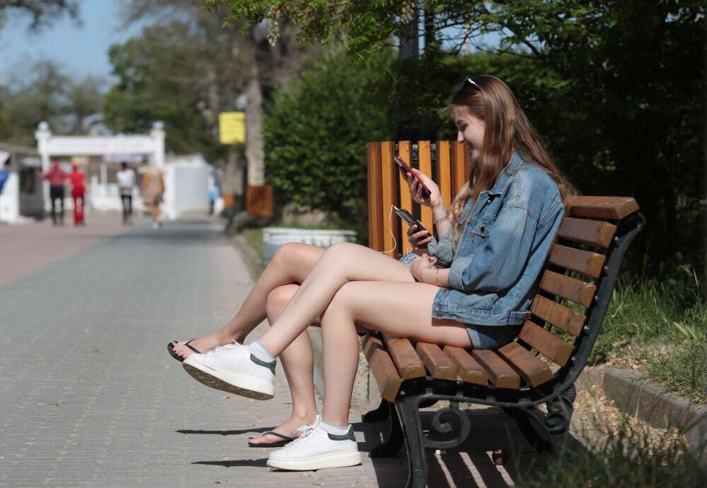 Odpoczywający w Eupatorii, Krym