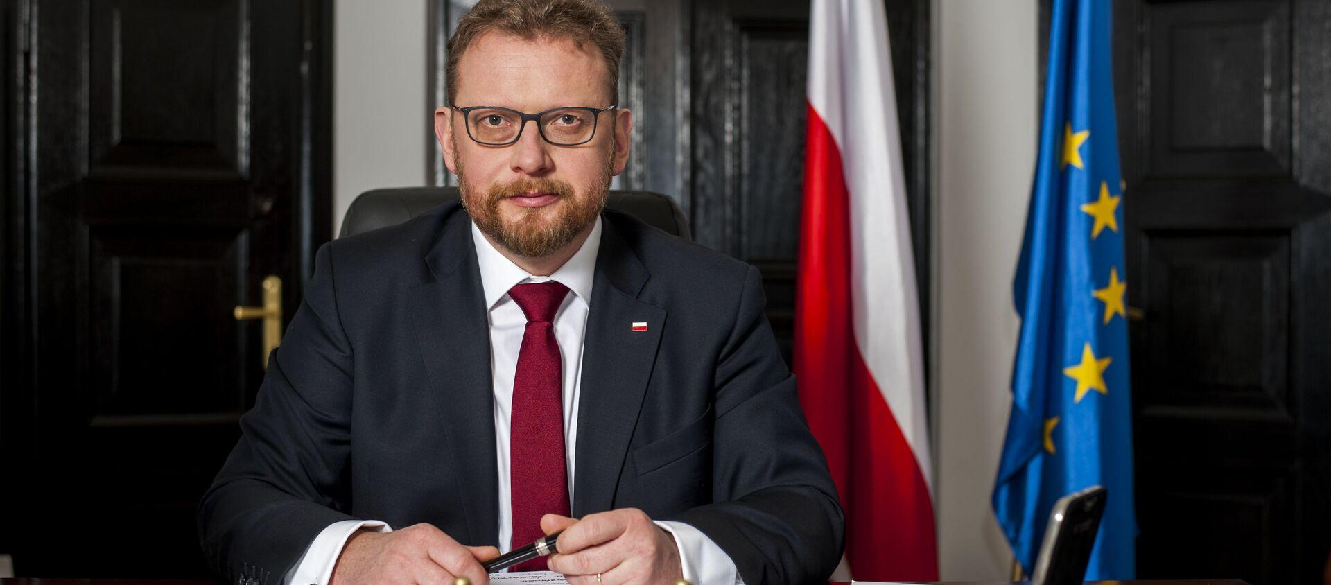 Minister zdrowia Łukasz Szumowski - Sputnik Polska, 1920, 04.02.2021