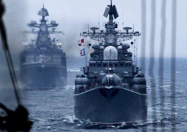 """Ćwiczenia rosyjsko-chińskie """"Morska Współpraca 2015"""" we Władywostoku"""