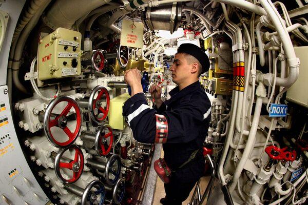 Okręt podwodny Ust'-Kamczatsk - Sputnik Polska
