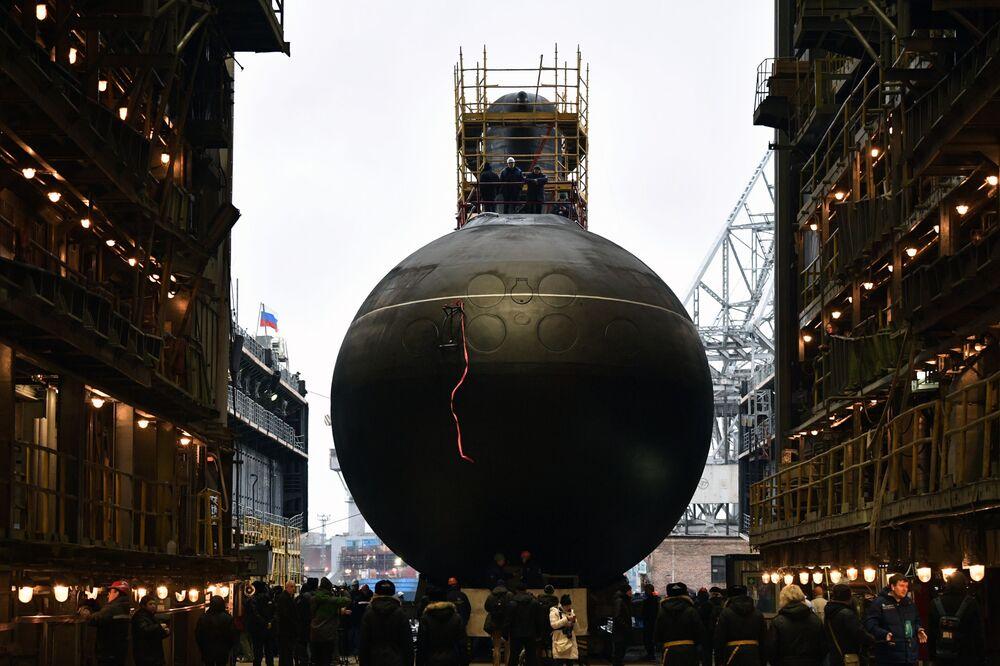 """Okręt podwodny """"Wołchow"""""""