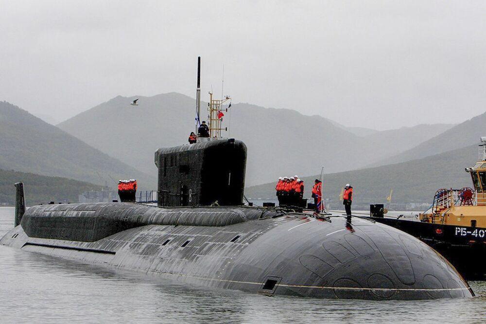 """Okręt podwodny """"Aleksandr Niewskij"""""""
